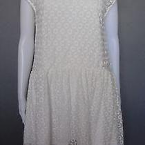h&m White Lace Dress - Size M Photo