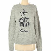 h&m Women Gray Pullover Sweater Xs Photo