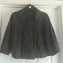 h&m Women's Army Green Coat Size 14 Photo