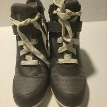 H & M Women's Charmer Bootie Ankle Boot Gray Size 7 (X211) Photo