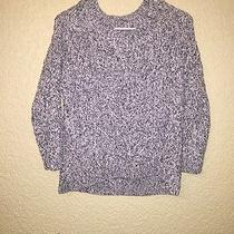 h&m Women's Crop Sweater Black and White Size Xs Photo