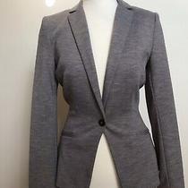 h&m Womens Grey Blazer Size 6 Jacket Photo