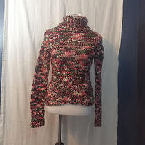 h&m Womens  Pullover Cable Knit Multicolored Size 6 Photo