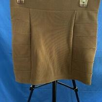 h&m Women's Skirt / Short / Tan Brown / Size 6 Gently Used Photo
