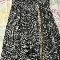 h&m Womens Juniors Cocktail Evening Black/white Dress Beads Nwt Size 4 Ret 99 Photo