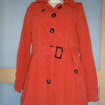 h&m Womens Spring Bright Red Coat Size 8 Photo