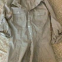 h&m Zara Forever 21 Button Down Shirt Size 2  Photo