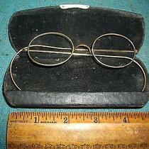 H367 Antique Eye Glasses Marked Stevens & Co Photo