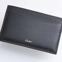 H5991m Authentic Cartier Genuine Leather Business & Credit Card Case Photo