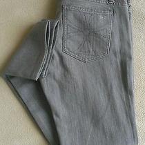 Habitual Grey Straight Leg Jeans Euc Sz 29 Made in Usa...high End - Nice  Photo