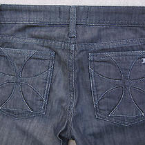 Habitual Jeans Cross Pockets Straight Leg Sz. 26 Inseam 34 Euc 205 Photo