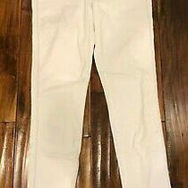 Habitual White Chalk Denim Eve High-Rise Skinny Jeans Size 30 Photo