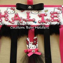 Hair Bow Holder - Hello Kitty - Any Name Photo