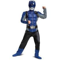 Halloween Kids' Power Rangers Beast Morpher Blue Ranger Halloween Costume Mus... Photo