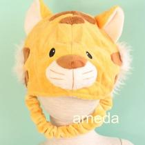 Halloween Tiger Big Cat Costume Kids Hat Cap Mask Birthday Party Xmas Fancy Y001 Photo