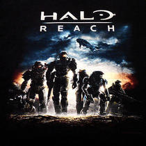 Halo Reach T Shirt 3xl Xxxl Black Video Game Gamer Masterchief Master Chief Photo