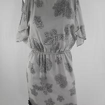 Halston Silk Print Dress Photo