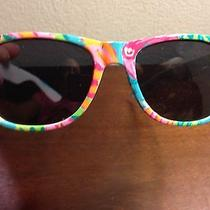 Hand-Painted Lilly-Inspired Sunglasses