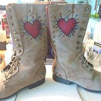 Hand Painted Steve Madden Boots Photo