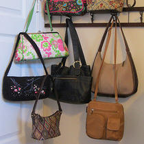 Handbag Lot of 8  Nine West  Thirty-One  Relic  Rampage  Cherokee  Others Photo