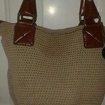 Handbag the Sak Tan Crochet Bag Style Purse Photo