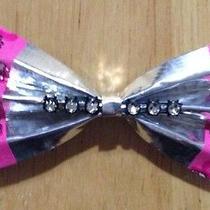 Handmade Chrome Duck Tape Brand Bow Pink Hello Kitty Trim Photo