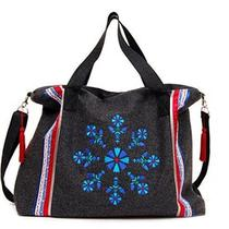 Handmade Cloth Womens Handbag Slavic Embroideries and Decorations Hobo Bag Photo