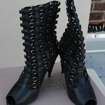 Handmade Jeffrey Campbell Women's Designer Shoes Like New Photo