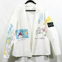 Handmade Painted Shirt Jacket Photo