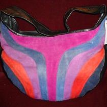 Handmade Purple Hobo Handbag Photo