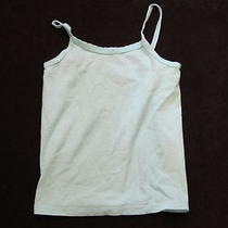 Hanes Cami Top  Aqua Blue  Pre Owned  Very Good Condition Photo