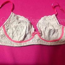 Hanky Panky Signature Lace Nude Beige Pink 34d Bra Wireless Preowned Photo