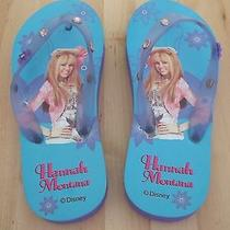 Hanna Montana Disney Flip Flops Size 2  Photo