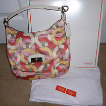 Happy Mother's Day Nwt Coach Kristin Chain Link Shoulder Bag F22745 Photo