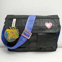 Harajuku Lovers Black Crossbody Messenger Bag Photo