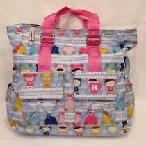 Harajuku Lovers Fatal Attraction to Cuteness Uh-O Diaper Bag Pink Purse Snow Photo