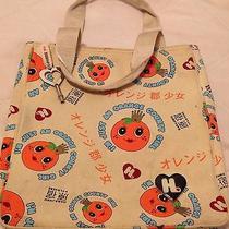 Harajuku Lovers Gwen Stefani Orange County Girl Small Tote Bag Purse Kawaii  Photo