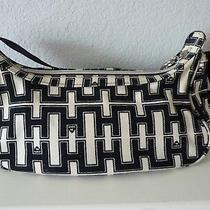 Harajuku Lovers Handle Zip Purse Canvas Black & White Pouch Photo