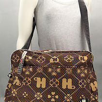 Harajuku Lovers Logo Canvas Messenger Crossbody Bag Purse Lg Gwen Stefani Nwot Photo