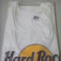 Hard Rock Cafe Las Vegas Tank Top T Shirt Sz Xl New Still in Bag  White Awesome  Photo