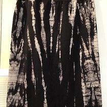 Hard Tail Black & White Lizard Tie Dye Skirt Size Xs Photo