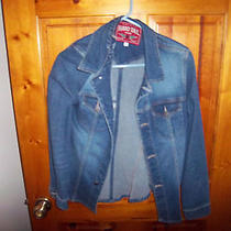 Hard Tail Size L Heavy Weight Stretch Jean Shirt Jacket Hard Tail Jeans  Photo
