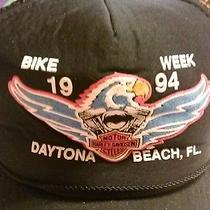 Harley Davidson 1994 Bike Week Cap-Daytona Beach Fl Photo
