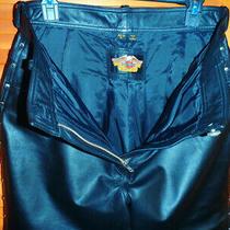 Harley Davidson Black Leather Pants Studs Size 40/12 Photo