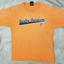 Harley Davidson Campbell's Marion Illinois Mens T-Shirt Large 2006 Photo