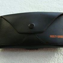 Harley Davidson Eyeglass Case - Leather Photo
