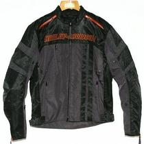 Harley-Davidson Functional Jacket Black Fuel Cell Mens 97257-12vm Photo