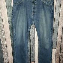 Harley Davidson Jeans Pants Mens 40 Blue Biker Motorcycle Denim Men 40x32  Photo