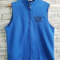 Harley Davidson Ladies Quilted Vest - Blue - Size Xl - 2009 Nc State Hog Rally Photo