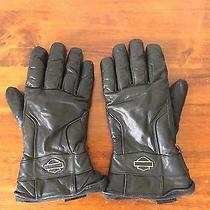 Harley Davidson Leather Gloves Black Xl Primaloft - Warm Photo